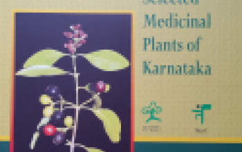 Photo Guide to Selected Medicinal Plants of Karnata - Book Cover