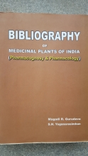 Bibliography of Medicinal Plants of India - Book Cover
