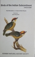 Birds of the Indian Subcontinent - A Field Guide - Cover Page