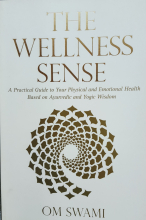 The Wellness Sense by Om Swamy -Book Cover